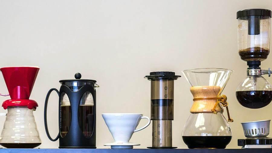 способы приготовления кофе