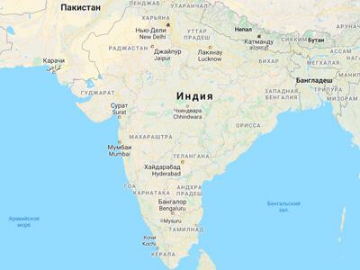 География Индия
