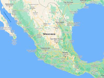 Мексика география