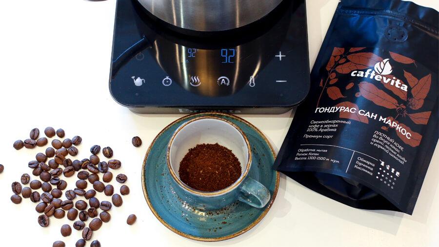 Как заварить кофе в чашку